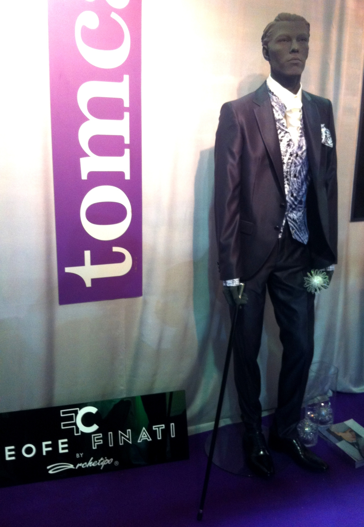 Tomcat Strassen at Salon du Mariage