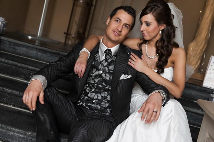 "Joris & Elien, winners of ""Archetipo's Brides & Grooms"" 2013 Contest"