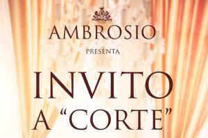 """Invitation to """"Corte"""" for Archetipo"""