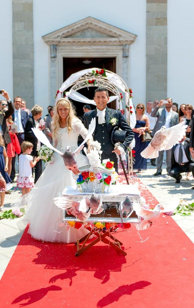 Gli sposi a firma Archetipo Ivan e Elisa