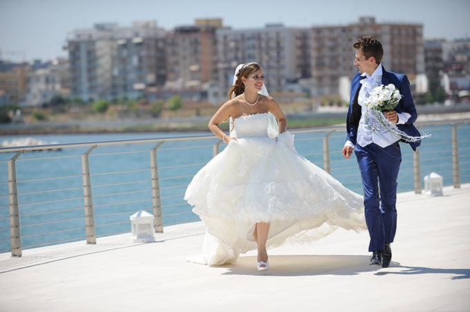 "Antonio & Maria Grazia: the winners of the 2014 contest ""Archetipo Brides & Grooms"""