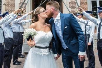 August grooms in Cleofe Finati