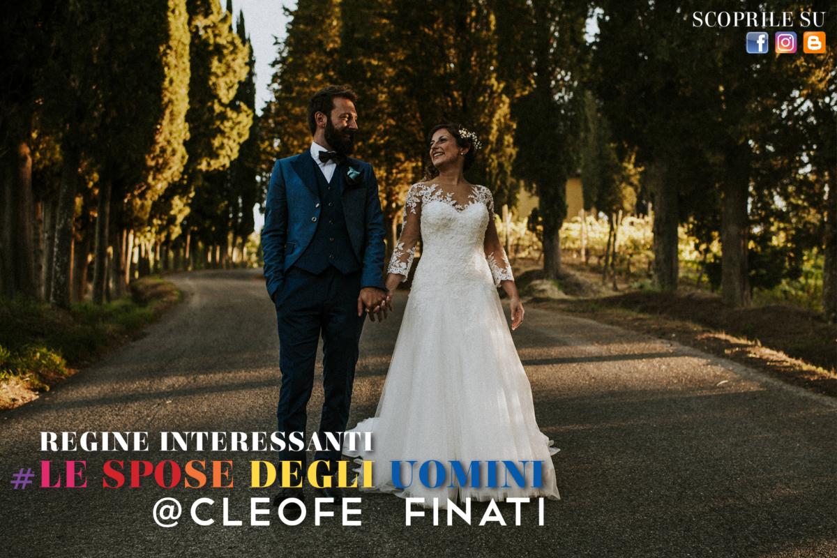Regine interessanti: Elena la bellissima e sorridente  sposa di Matteo