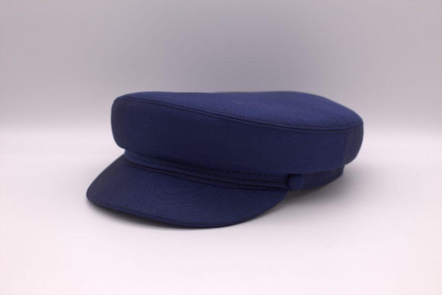 Cappello uomo litis abito da sposo classico blu intenso made in Italy 100% by Cleofe Finati