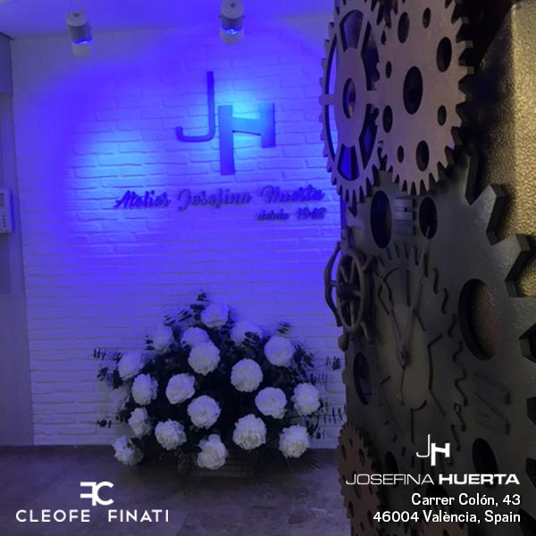 CLEOFE FINATI ON THE ROAD… VISIT JOSEPHINA HUERTA