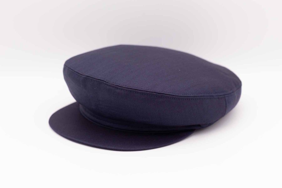 Litis man hat fashion wedding suit midnight blue 100% made in Italy by Cleofe Finati