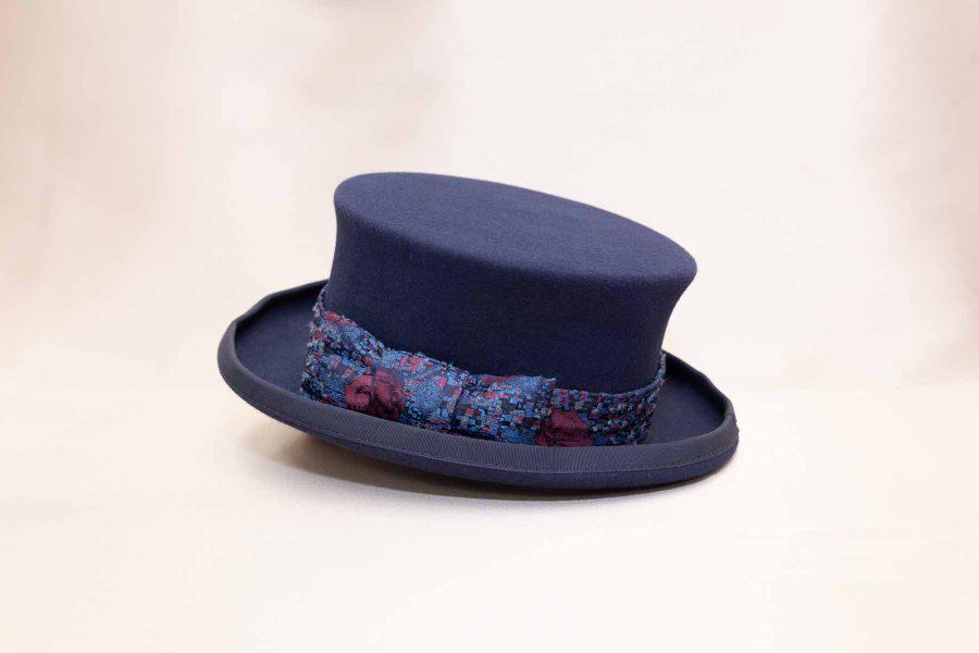 Abito da uomo glamour lusso blu notte made in Italy 100% by Cleofe Finati