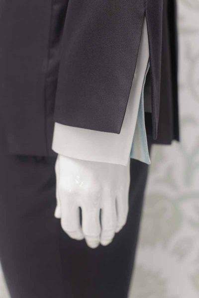 Cloud grey fashion wedding suit 100% made in Italy by Cleofe Finati