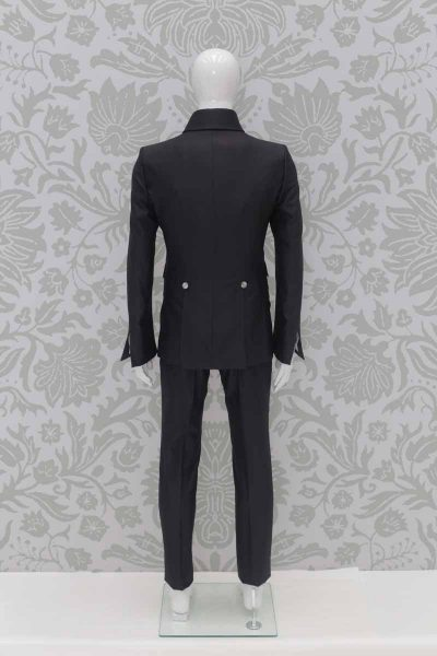 Grey fashion wedding suit jacket 100% made in Italy by Cleofe Finati