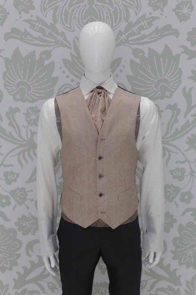 Abito da sposo fashion grigio made in Italy 100% by Cleofe Finati