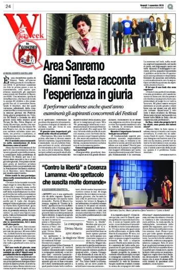 Area Sanremo, Gianni Testa racconta l'esperienza in giuria