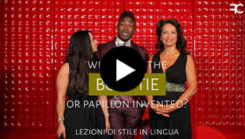 When and how is the bow tie element dandy born? | # 55 MULTILINGUAL STYLE LESSON