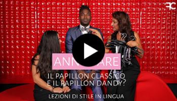 Come annodare il papillon classico e il papillon dandy? | #57 LEZIONE DI STILE IN LINGUA