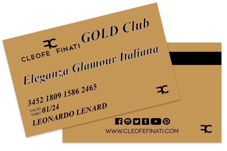 Eleganza Glamour Italiana - Cleofe Finati