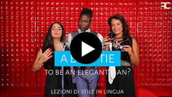 When to wear a bow tie to be an elegant man? | #58 MULTILINGUAL STYLE LESSONS