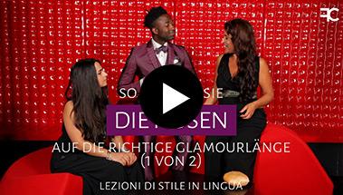 So säumen Sie die Hosen auf die richtige GlamourLänge | # 59 1 of 2  3-sprachiges styltraining