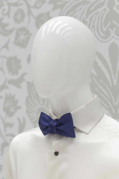 Black white bow tie glamour men's suit black and white 100% made in Italy by Cleofe Finati