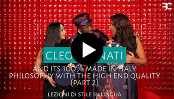 Who is Cleofe Finati and its 100% made in Italy philosophy with high end quality | #61 2 out of 3