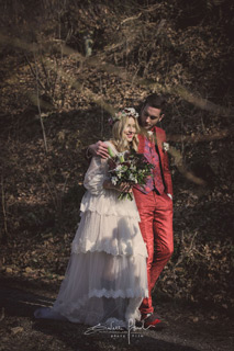 100% MADE IN ITALY GROOMS AND BRIDES IN THE ENCHANTED FOREST
