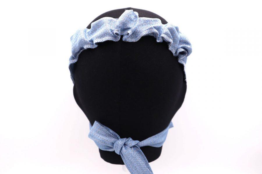 Azalea silk mask by Cleofe Finati