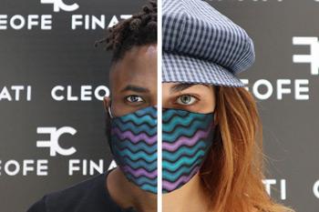 NONunamascherina antivirus fai da tequando puoi avere unamascherina colorataglamour in seta per donna, uomo e bambino
