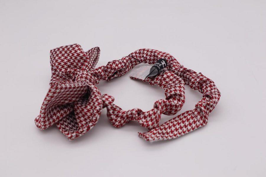 Papillon rosso in seta cravattino uomo donna bambino Rspberry by Cleofe Finati
