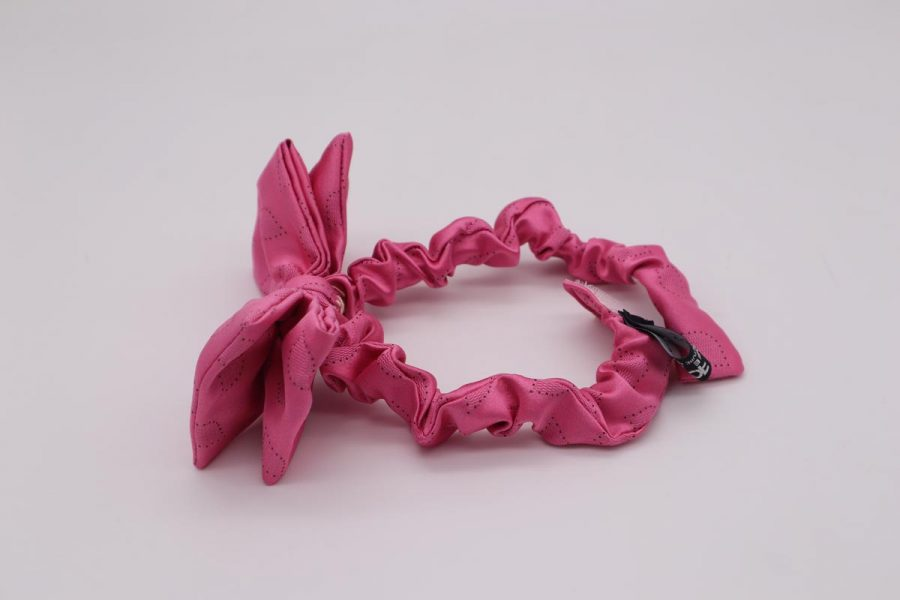 Made in Italy men's pink bow tie ladies' papillon children's bow tie Strawberry by Cleofe Finati