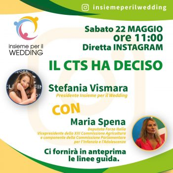 THE Scientific Technical Committee (CTS) HAS DECIDED THE RULES OF WEDDINGS IN ITALY