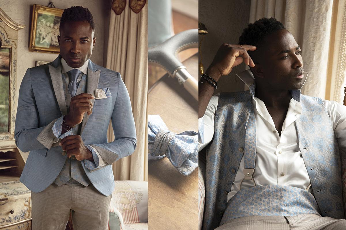Opere d'arte a firma Cleofe Finati, la linea luxury è la massima espressione del trend Abiti uomo e abiti da sposo Cleofe Finati